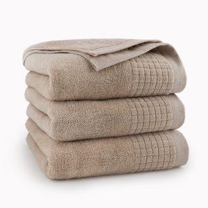 beżowy ręcznik