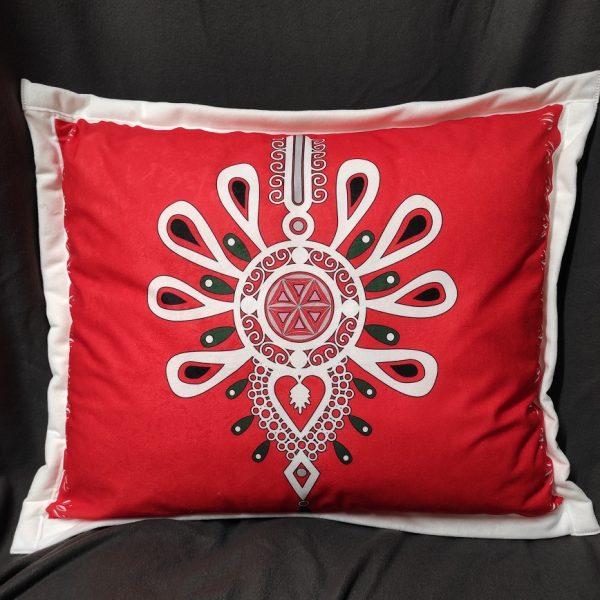 poduszka parzenica czerwona